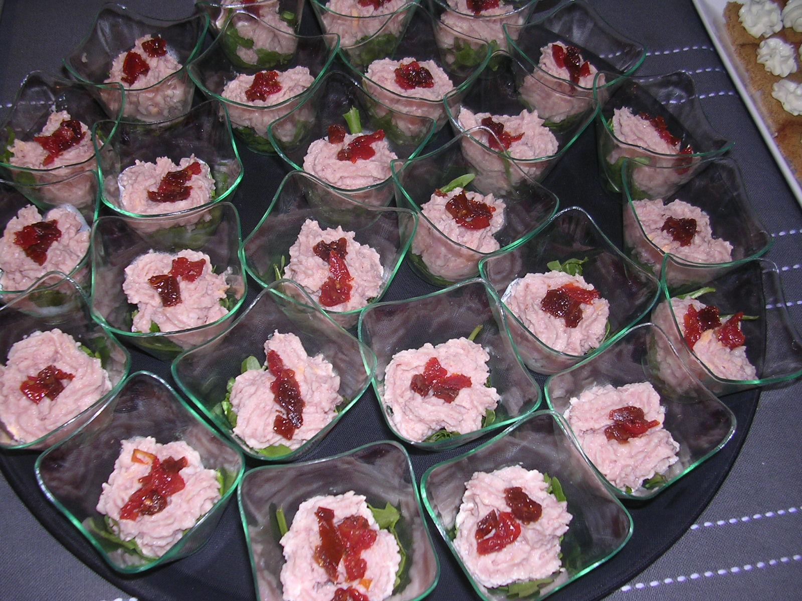 Recette verrine jambon boursin