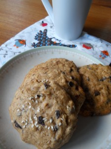 cookies cannelle et chocolat