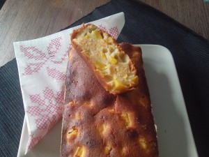 Cake mangue - vanille