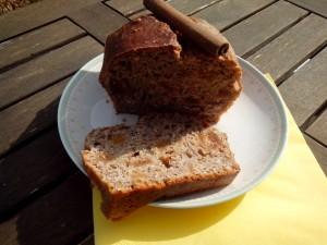 cake sans sucre, cannelle et figues