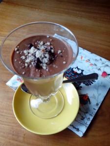crème chocolat à la patate douce